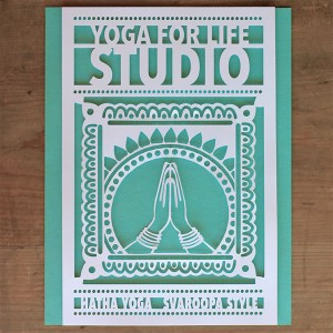 Yoga For Life Poster